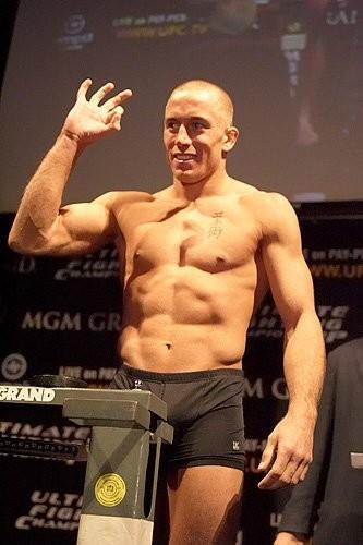 UFC 56 weigh-in Georges St. Pierre