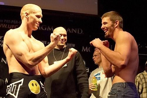 UFC 56 weigh-in Nick Thompson vs  Keith Wisniewski