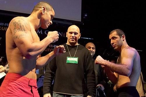 UFC 56 weigh-in Thiago Alves vs. Ansar Chalangov