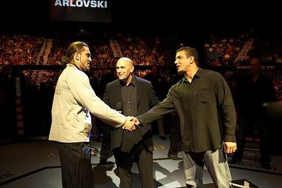 UFC 56 Arlovski and Mir