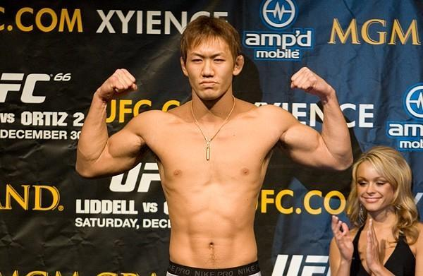 UFC 66 Weigh In Yushin Okami