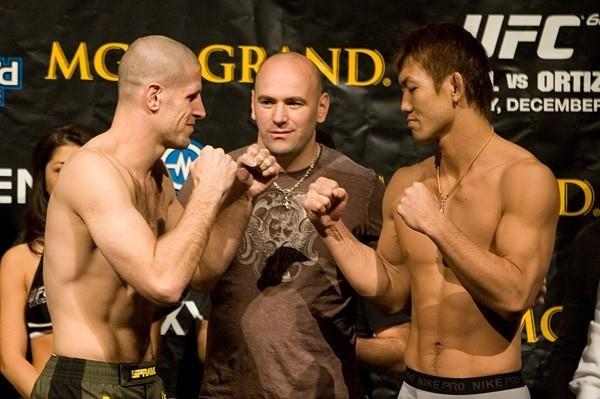 UFC 66 Weigh In Rory Singer Yushin Okami