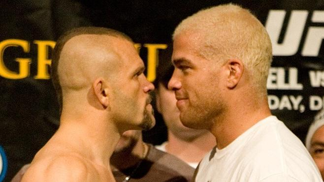 UFC 66 Weigh In Chuck Liddell Tito Ortiz