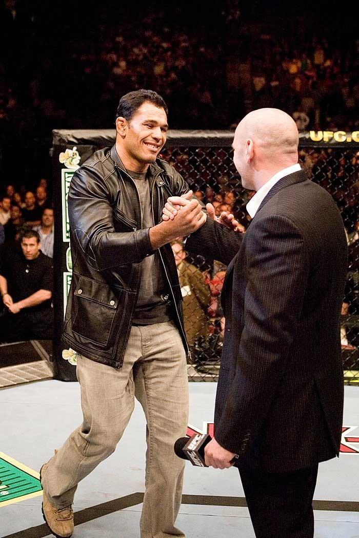 """UFC 69: Shootout Antonio Rodrigo """"Minotauro"""" Nogueira & Dana White"""