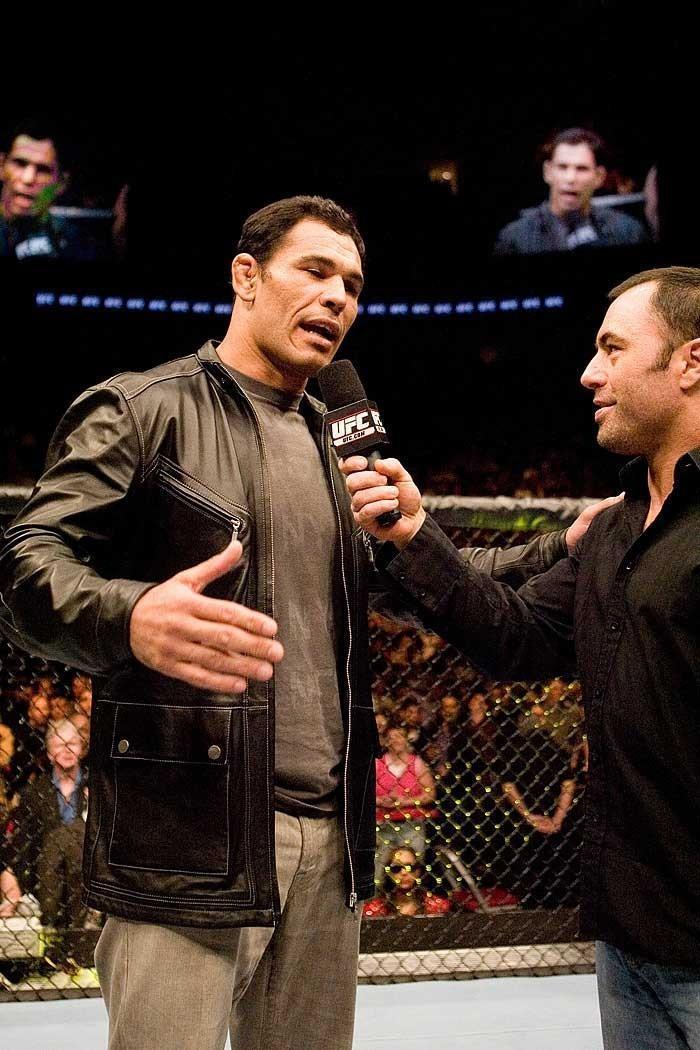 """UFC 69: Shootout Antonio Rodrigo """"Minotauro"""" Nogueira & Joe Rogan"""