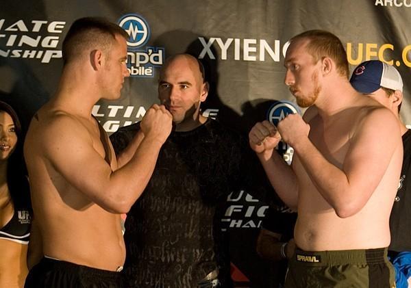Jake O'Brien Josh Schockman  UFC 65 Weigh In