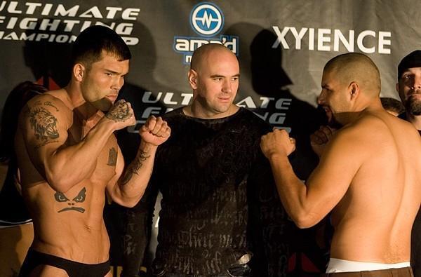 James Irvin Hector Ramirez  UFC 65 Weigh In