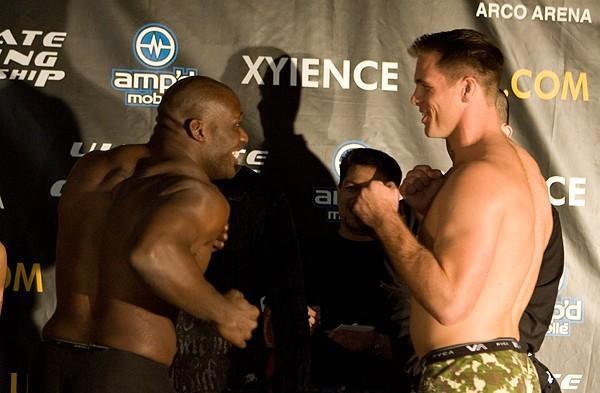 Antoni Hardonk Sherman Pendergarst UFC 65 Weigh In