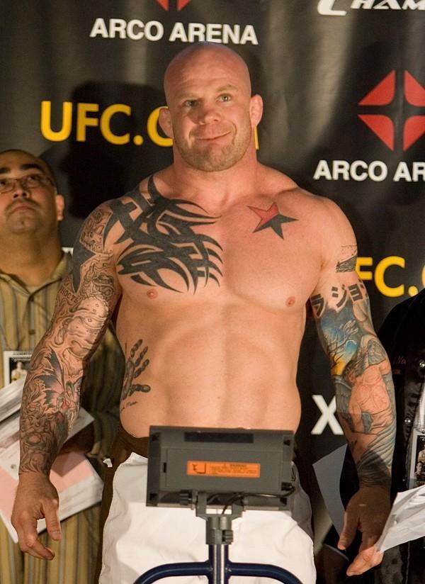 Jeff Monson UFC 65 Weigh In