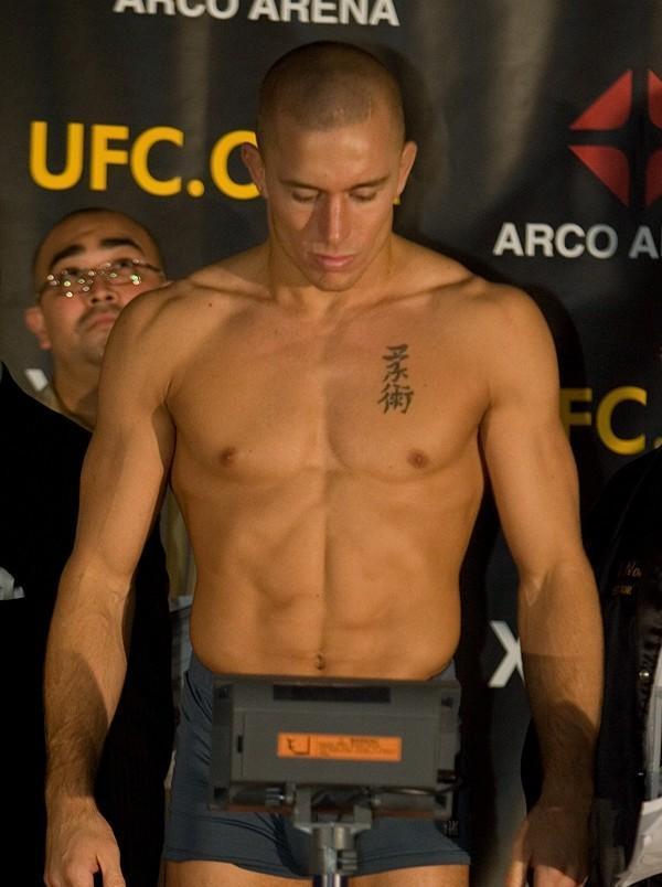 Georges St Pierre UFC 65 Weigh In