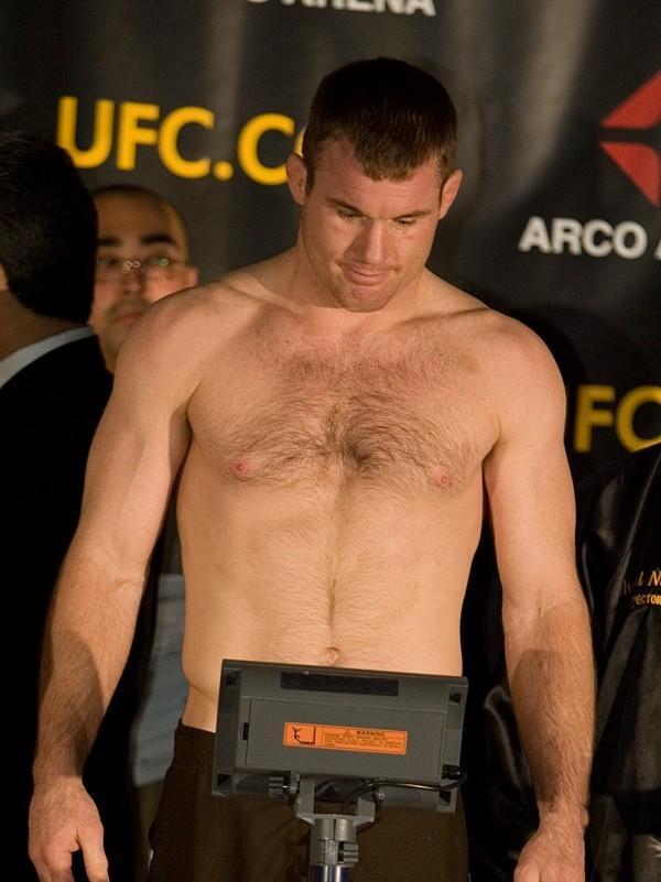 Matt Hughes UFC 65 Weigh In