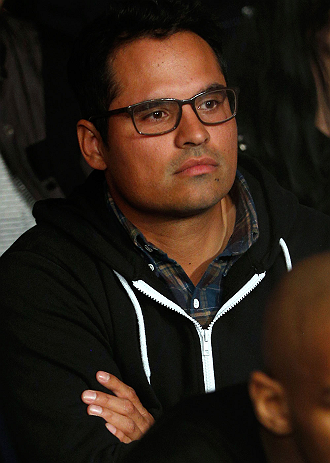 LONDON, ENGLAND - FEBRUARY 16:  Actor Michael Pena attends the UFC on Fuel TV event on February 16, 2013 at Wembley Arena in London, England.  (Photo by Josh Hedges/Zuffa LLC/Zuffa LLC via Getty Images)