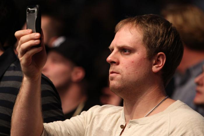 TORONTO, ON - DECEMBER 10:  Toronto Maple Leafs right winger Phil Kessel attends the UFC 140 event at Air Canada Centre on December 10, 2011 in Toronto, Ontario, Canada.  (Photo by Josh Hedges/Zuffa LLC/Zuffa LLC via Getty Images)