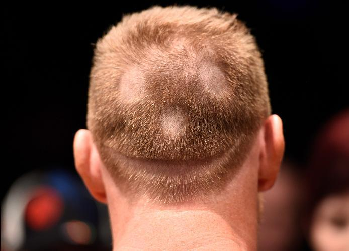 MEXICO CITY, MEXICO - NOVEMBER 05:  Sam Alvey of the United States prepares to enter the Octagon before facing Alex Nicholson of the United States in their middleweight bout during the UFC Fight Night event at Arena Ciudad de Mexico on November 5, 2016 in