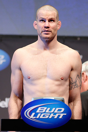 MONTREAL, QC - MARCH 15: Nate Marquardt during the UFC 158 weigh-in at Bell Centre on March 15, 2013 in Montreal, Quebec, Canada.  (Photo by Josh Hedges/Zuffa LLC/Zuffa LLC via Getty Images)