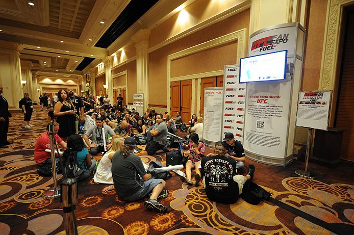 LAS VEGAS, NV - JULY 06:  Fans attend the UFC Fan Expo on July 6, 2012 in Las Vegas, Nevada. (Photo by Al Powers /Zuffa LLC/Zuffa LLC via Getty Images)