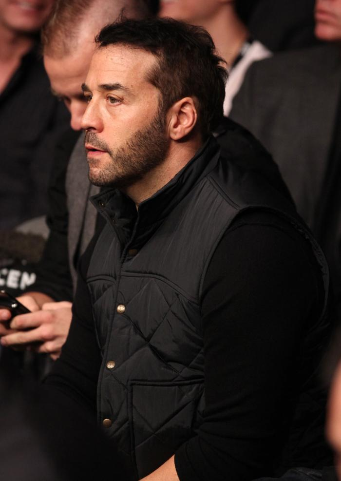 CHICAGO, IL - JANUARY 28:  Actor Jeremy Piven attends the UFC on FOX event at United Center on January 28, 2012 in Chicago, Illinois.  (Photo by Nick Laham/Zuffa LLC/Zuffa LLC via Getty Images) *** Local Caption *** Jeremy Piven