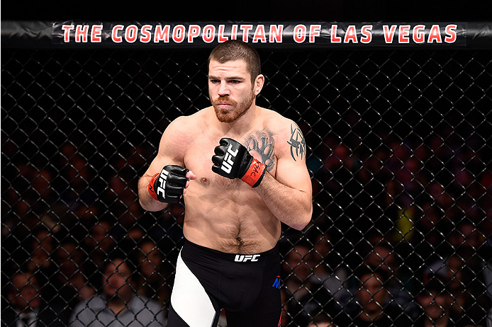LAS VEGAS, NEVADA - DECEMBER 10:  Jim Miller before his lightweight bout with Michael Chiesa during the UFC Fight Night event at The Chelsea at the Cosmopolitan of Las Vegas on December 10, 2015 in Las Vegas, Nevada.  (Photo by Jeff Bottari/Zuffa LLC/Zuff