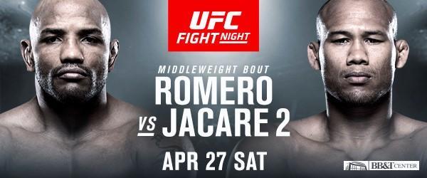 Romero Jacare 2 Bout Announcement UFC FT Lauderdale