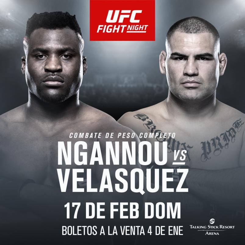 UFC Phoenix Ngannou vs Velasquez