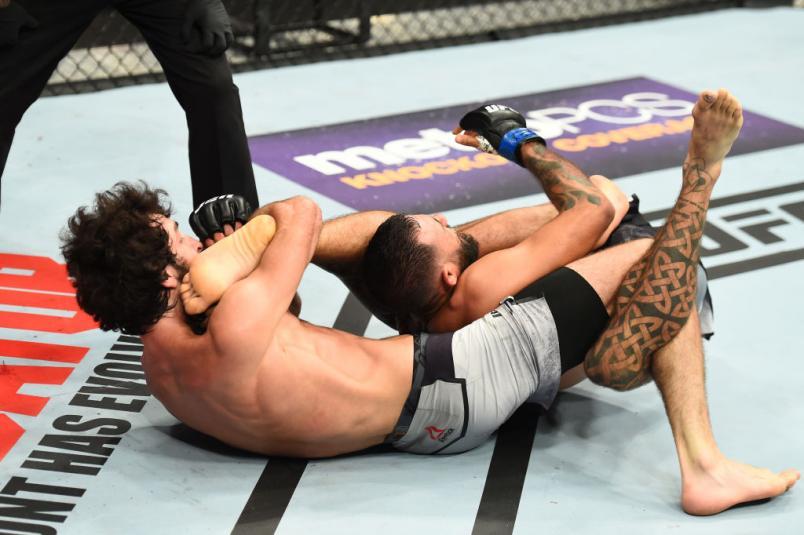 UFC 228 Zabit Magomedsharipov submission