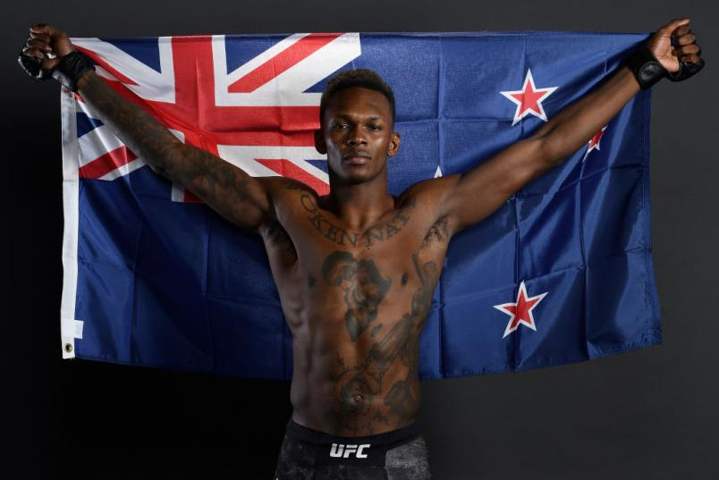 Israel Adesanya post UFC 230: Cormier v Lewis portrait