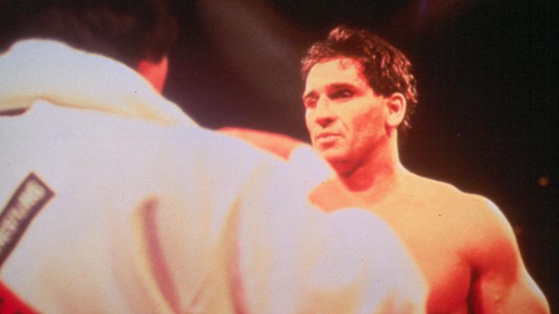 Royce Gracie and Ken Shamrock at UFC 1