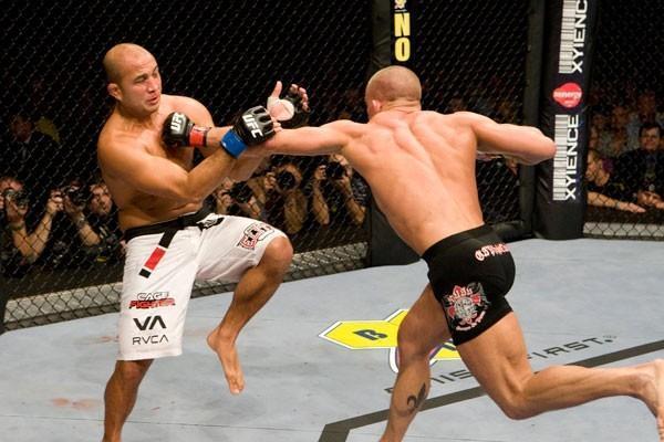 UFC 94 Georges St-Pierre vs BJ Penn
