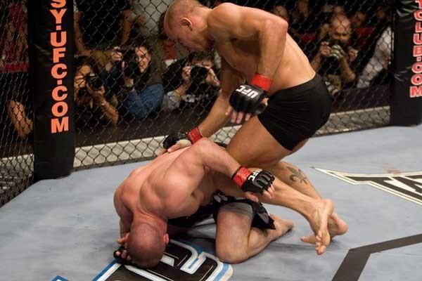 UFC 83 Georges St-Pierre vs Matt Serra