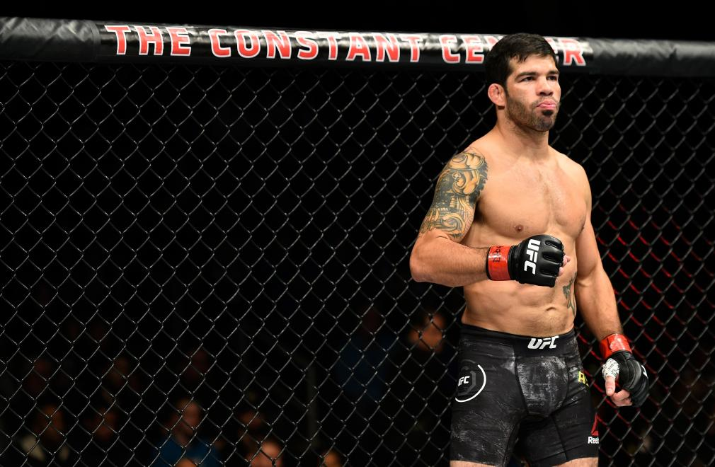 NORFOLK, VA - NOVEMBER 11: Raphael Assuncao of Brazil stands in his corner prior to facing Matthew Lopez in their bantamweight bout during the UFC Fight Night event inside the Ted Constant Convention Center on November 11, 2017 in Norfolk, Virginia. (Photo by Brandon Magnus/Zuffa LLC/Zuffa LLC via Getty Images)