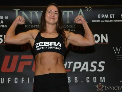 Kaitlin Young Invicta 32