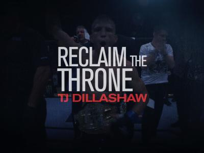 Dillashaw: Reclaim The Throne
