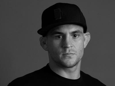 LOS ANGELES, CA - AUGUST 03:  Dustin Poirier poses for a portrait backstage prior to the UFC press conference inside the Orpheum Theater on August 3, 2018 in Los Angeles, California. (Photo by Mike Roach/Zuffa LLC/Zuffa LLC via Getty Images)