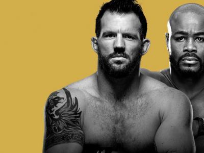 UFC 192 Ryan Bader vs Rashad Evans