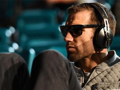 LAS VEGAS, NV - DECEMBER 11:   Luke Rockhold waits backstage before stepping on the scale during the UFC 194 weigh-in inside MGM Grand Garden Arena on December 10, 2015 in Las Vegas, Nevada.  (Photo by Mike Roach/Zuffa LLC/Zuffa LLC via Getty Images)