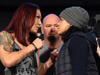 UFC 232: Cris Cyborg e Amanda Nunes fazem encarada