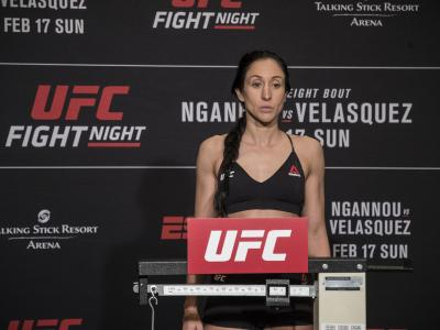 Jessica Penne UFC Phoenix weigh ins