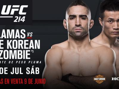 Ricardo Lamas vs The Korean Zombie