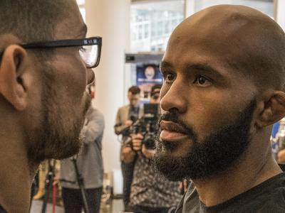 Demetrious Johnson at UFC 215 Media Day - Juan Cardenas for UFC.com