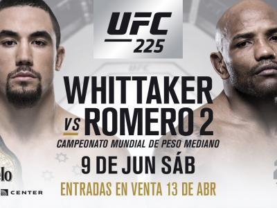 Robert Whittaker vs Yoel Romero ESP