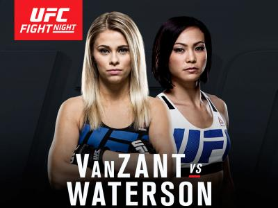Paige VanZant vs Michelle Waterson