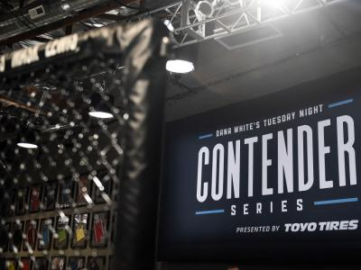 LAS VEGAS, NV - AUGUST 08:   A general view of Dana White's Tuesday Night Contender Series at the TUF Gym on August 8, 2017 in Las Vegas, Nevada. (Photo by Brandon Magnus/DWTNCS)