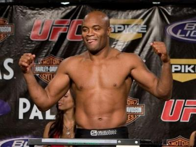 UFC Weigh-In Anderson Silva