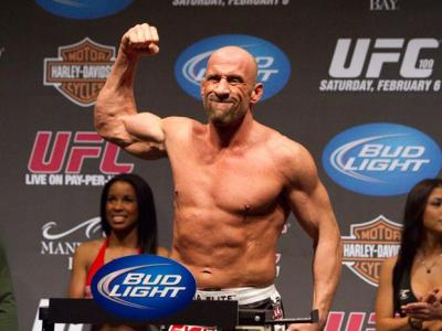 UFC 109 Weigh-In Mark Coleman